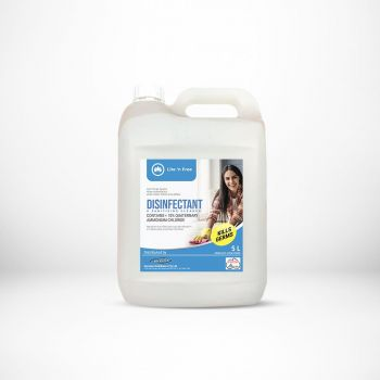 Lite 'n Free 5LTS - Disinfectant Pine Lemon Liquid