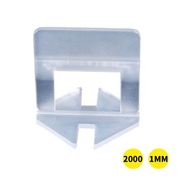 1000x 1MM Tile Leveling System Clips Space Saving Tiling Tool