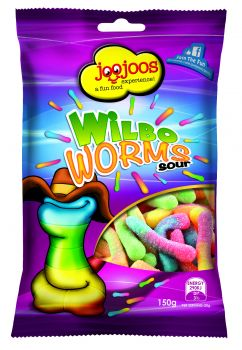 WILBO WORMS SOUR 150g x 12