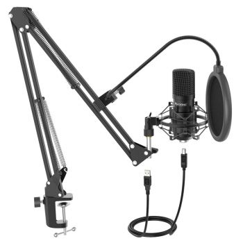 Fifine T730 Condenser Microphone Streaming Kit