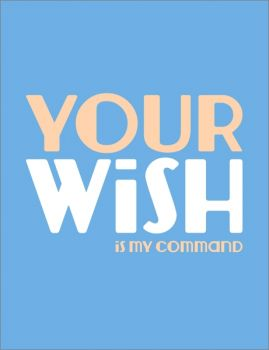 Card-Your Wish Is My Command
