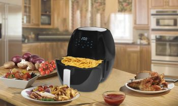 8 LTR DIGITAL AIR FRYER