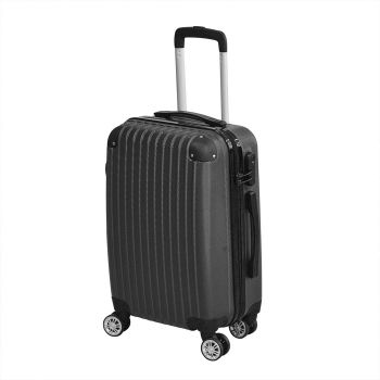 """Travel Luggate Suitcase Trolley 20"""" in Black Colour"""