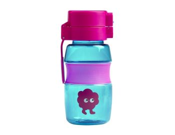 Tiny Tincs Flip and Clip Water Bottle - Blue/Pink