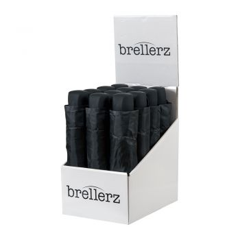 Brellerz Black Basic Folding In Cdu Of 12