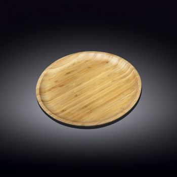 Bamboo Round Plate 20.5cm