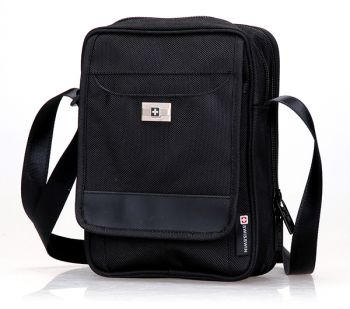 Swiss waterproof Bag Travel Message Bag Daily iPad shoulder Bag SW9009