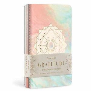 Gratitude Sewn Notebook Collection (Set of 3)
