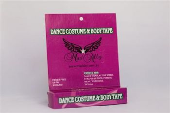 Mad Ally Dance Costume and Body Tape