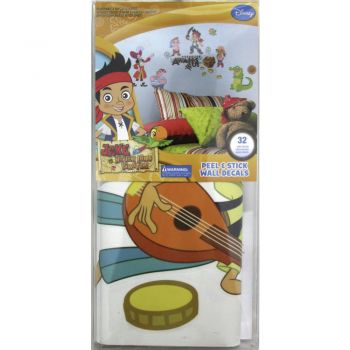 ROOMMATES Jake and the Never Land Pirates Peel & Stick Wall Decals