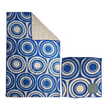 Microfibre Printed Kitchen Towel Set Soundwave