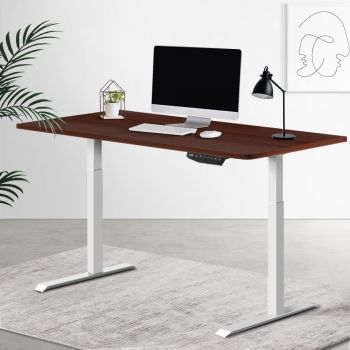 Artiss Standing Desk Motorised Sit Stand Table Height Adjustable Computer Laptop Desks Dual Motors 140cm