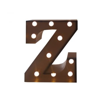 LED Metal Letter Free Standing Hanging Lights Marquee Event Party Decor Letter Z