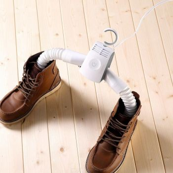 Portable Travel SKI SNOW GEAR Electric Clothes Hanger Shoe Dryer Drying Rack