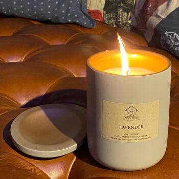 Premium Soy Candle (Small) - Blood Orange