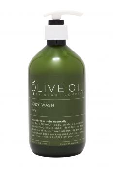 Body Wash Pure: Castile-style ,Unscented 500ml