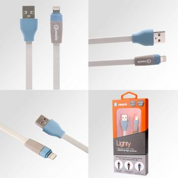 LIGHTY LED FLASH USB CABLE LIGHTNING (For iPhone)