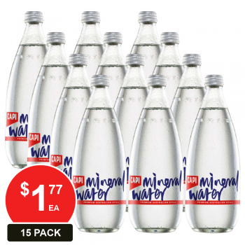 15 Pack, Capi 500ml Still Mineral Water