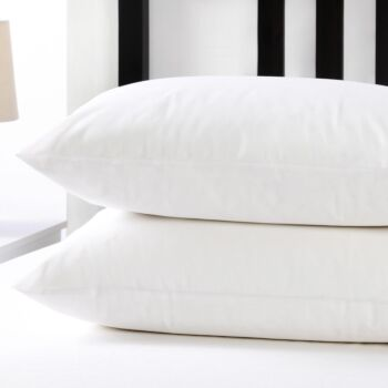Dreamaker Stain Resistant Pillow Protector - 48 X 73Cm (4 Pack)