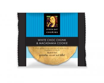 Byron Bay - White Choc Mac Single Wrap 1x12pk