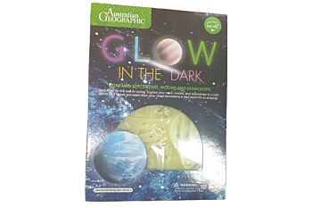 Australian Geographic Solar System Glow in Dark (Outer carton has 3 inners of 12)