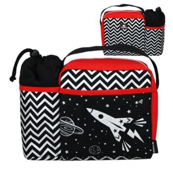 Space King Lunch Bag - Pack Size 2