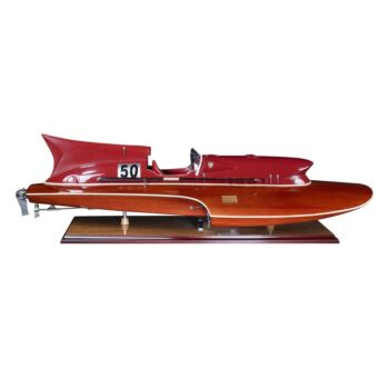 Nautical Thunderboat Motorboat Model