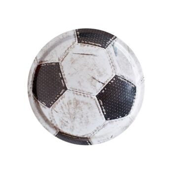 Worn Soccer Ball Handmade Birch Tray