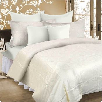 King Bed Quilt cover set IVORY