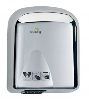 Dolphy Stainless Steel Automatic Hand Dryer 1650W - Gloss