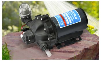 12V 20Lpm High Pressure Self Priming Water Pump Caravan Camping Tool Farm Boat