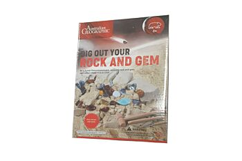 Australian Geographic  Real Rock & Gem Dig & Discover