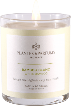 180g/6.34 oz Perfumed Hand Poured Candle - White Bamboo
