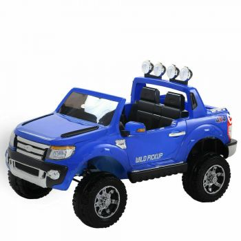 BoPeep 12V Electric Kids Child Ride-On Car Truck Jeep Toy Gift Off Road in Blue