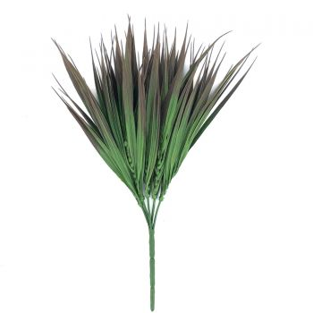 Artificial Brown Tipped Grass Plant UV Resistant 35cm