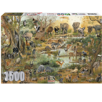 All Creatures  Cfk 1500 Piece Jigsaw Puzzle   All Creatures, Great And Small. Can You Name Them All!