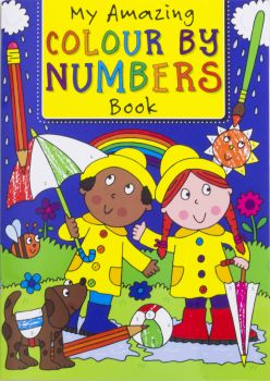 Book Colour By Numbers 295mm x 210mm 32pg