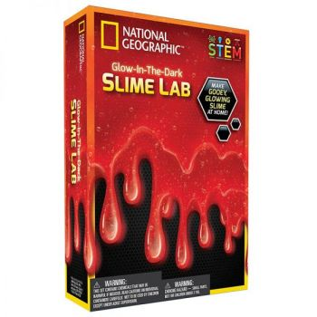 Glow in the Dark Slime Lab - Red