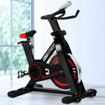 Everfit Spin Bike Exercise Bike Flywheel Cycling Fitness Commercial Home Workout Gym Machine
