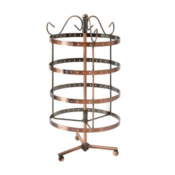 5 Tier Jewellery Display Stand for Earrings in Bronze