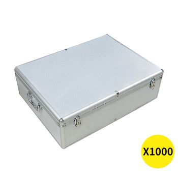 1000 Discs Aluminium CD DVD Cases Bluray Lock Storage Box
