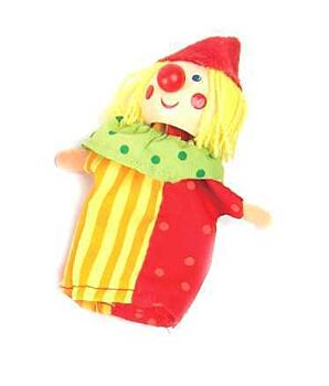 CLOWN FINGER PUPPET