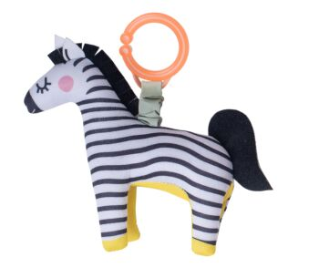 Dizi the Zebra Rattle