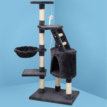 i.Pet Cat Tree Trees Scratching Post Scratcher Tower Condo House Furniture Wood Multi Level