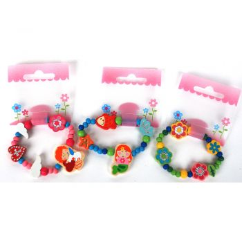 Wooden Bracelet 12Pcs/Bag 3