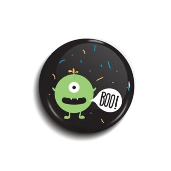 Monster button badge