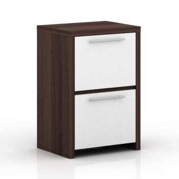 Cosmoliving W50 x H75cm File Cabinet 2 Drawer Foolscap