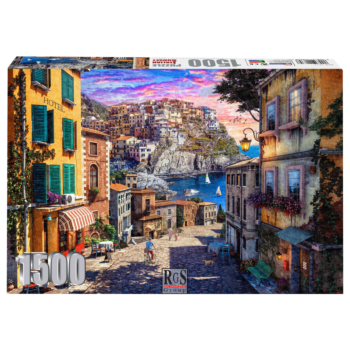 Italian Sunset 1500 Piece Jigsaw Puzzle   Enjoy A Gentle Stroll Down To The Water.