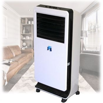 Portable Evaporative Air Cooler 3 in 1 Mist Ice Cooling Fan Humidifier 3.3L
