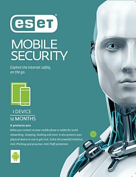 ESET Mobile Security  1 Device 1 Year License via email
